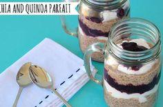 Breakfast of Champions: Chia and #Quinoa Parfait
