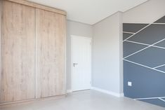 1058 on Schapejacht - Crontech Consulting Cupboard Wardrobe, Wardrobe Storage, Light Paint Colors, Feature Wall Bedroom, Grey Interior Design, Tile Flooring, Country Estate, Cupboards, Modern Bedroom