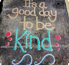 Forgive us for missing Thursday's #GPCsidewalkchallchallenge ❤️  Spend Saturday outside and creating something fun + beautiful! Chalk your favorite Q U O T E. Make sure you tag us & #releasethatrevvy *we do not own this image*