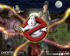 Ghostbusters logo The video game Ghostbusters Game, Ghost Busters, Captain Marvel, Monsters, Video Game, Games, Wallpaper, Fictional Characters, Wallpapers