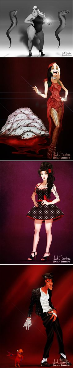 Disney Villains Look Devilishly Stylish in Halloween Costumes