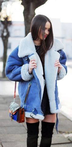 SHEARLING JACKET / Cajmel