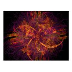 #personalize - #Fractal Swirl Postcard