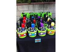 TMNT Birthday Party Ideas | Photo 23 of 40 | Catch My Party