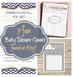 Baby Shower Games #baby #babyshower
