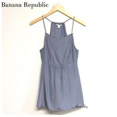 """BANANA REPUBLIC silk dress tank NEW with tags, never worn- dressy apron front style pairs great with black leggings and heels.  size- medium length- 20.5"""" hanging width- 17.5"""" laying flat  please don't hesitate to ask questions. happy POSHing    use offer feature to negotiate price on single item  i do not take any transactions off poshmark, so please do not ask. Banana Republic Tops Blouses"""