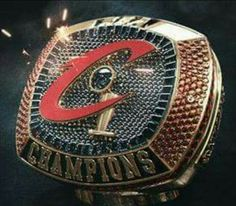 The Ring. Cleveland Cavaliers! 2016