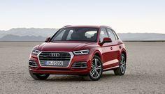 Кроссовер Audi Q5 второго поколения стал легче и мощнее