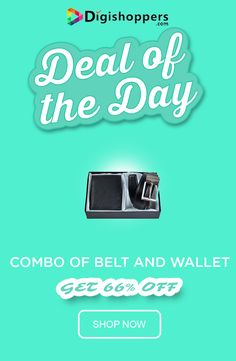 COMBO OF BELT AND WALLET
