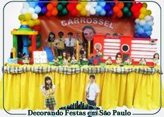 Decoração Mesa Carrossel | Decorando Festas em São Paulo | Elo7