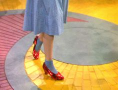 The Wizard of Oz by Victor Fleming.Shown: Judy Garland (as Dorothy Gale) on the Yellow Brick Road, wearing the ruby slippers Lila Party, Wizard Of Oz 1939, Dorthy Wizard Of Oz, Ruby Red Slippers, Land Of Oz, Yellow Brick Road, Over The Rainbow, Mellow Yellow, The Wiz