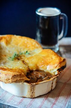 Steak and Guinness Pie | Many Kitchens