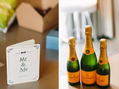 A Stylish and Contemporary Wedding by Adam Lowe Photography - Wedding Party