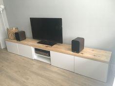 Meuble Tv Ikea Besta Banc Tv Besta Ikea para sala de estar minimalista moderna Home D . Living Room Tv Unit, Ikea Living Room, Ikea Bedroom, Bedroom Storage, Ikea Storage, Storage Hacks, Storage Ideas, Hack Ikea, Besta Hack
