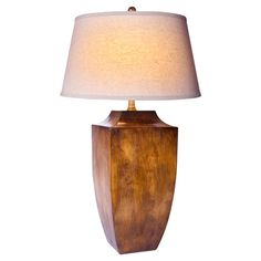 Bring lasting style to your home d�cor with this eye-catching table lamp.  Product: Table lampConstruction Material:...