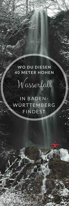 Alles rund um den Bad Urach Wasserfall in Baden-Württemberg findest du hier. Wandern in Baden-Württemberg! Los geht's!