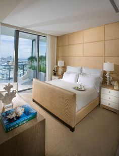Modern condo style bedroom