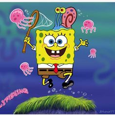The Jelly Fish Dance all began with SpongeBob! #OpeningCeremony