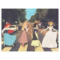 Find a new version: The Beatles - Abbey Road - Cover - Page 2 - Entertain . - Find a new version: The Beatles – Abbey Road – Cover – Page 2 – Entertainment, Music, Celeb - Abbey Road, Crossovers De Disney, Disney Memes, Walt Disney, Disney Magic, Disney And Dreamworks, Disney Pixar, Disney Characters, Disney Marvel