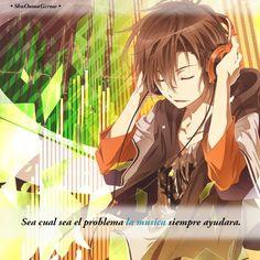 Sea cual sea el problema.. #ShuOumaGcrow #Anime #Frases_anime #frases