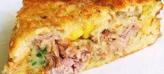 torta-de-atum-duxa Quiches, Love Eat, Love Food, Comida Picnic, Tortas Low Carb, Snacks Für Party, Portuguese Recipes, Portuguese Food, Creative Food