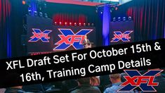 We hear from multiple sources that a letter has been sent out by XFL Commissioner and CEO Oliver Luck. In the letter, it details the October XFL draft and tr. October 15, Training, Camping, Detail, News, Campsite, Work Outs, Work Out, Education