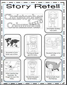 Inspired by Kindergarten: Columbus Day