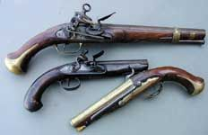 Flintlock Pistols Rifles & other Weapons (flintlocks were THE pirate pistol. This goes into detail about them)