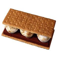 S'mores earn their name from the phrase