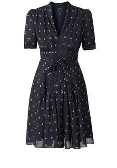 dress Orla Kiely...adore.  Please, let's go swing dancing now :)