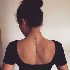 tattoos back - tattoos back - tattoos back of arm - tattoos back of neck - tattoos back women - tattoos back spine - tattoos back shoulder - tattoos back of arm above elbow - tattoos back of leg Little Tattoos, Mini Tattoos, Sexy Tattoos, Cute Tattoos, Body Art Tattoos, Arabic Tattoos, Heart Tattoos, Butterfly Tattoos, Girl Spine Tattoos