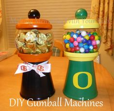 dyi gum ball machines   DIY Gumball Machines and Candy Dispensers