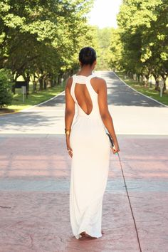 Beaute' J'adore: DIY Summer White Maxi