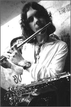 King Crimson at the backstage of The Marquee club, May 16th 1969.  http://www.themarqueeclub.net