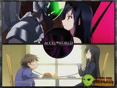 | Accel World | Esse é um dos animes mais populares de 2012. Vale a pena conhecer essa história focada em uma realidade virtual.