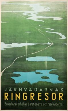 Vintage Finnish travel posters brought back to life