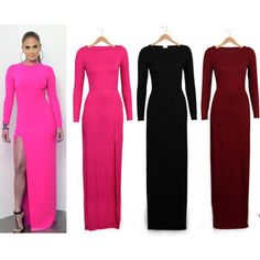 Womens Formal Party Evening Bodycon Maxi Long Dress