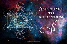You go, Metatron's Cube. #SageGoddess #Spiritual #Healing #Magic #Metaphysical