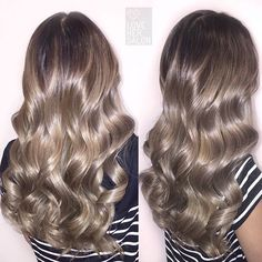Ash Balayage with our latest premium color range  double tap if you've got what…