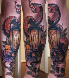 Lamp Tattoos Designs And Ideas : Page 21