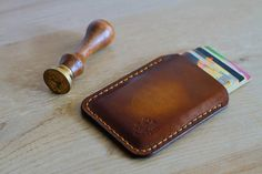 Minimalist Leather Wallet For Men, Handcrafted Leather Front Pocket Wallet, Gradient Antique Brown Leather Wallet, Best Gift For Him Leather Front Pocket Wallet, Brown Leather Wallet, Leather Belts, Business Card Case, Business Card Holders, Minimalist Leather Wallet, Leather Bags Handmade, Card Wallet, Gifts For Him