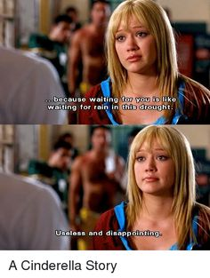 A Cinderella Story- this has to be one of my favorite girl-power movie lines ❤️ Teen Movies, Dc Movies, Funny Movies, Good Movies, Movie Tv, Childhood Movies, Movies Showing, Movies And Tv Shows, Another Cinderella Story