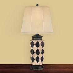 JB Hirsch J15202 Marquis Porcelain Table Lamp