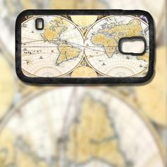World Map Design on Samsung Galaxy S5 Black Rubber Silicone Case by EastCoastDyeSub on Etsy https://www.etsy.com/listing/196338124/world-map-design-on-samsung-galaxy-s5