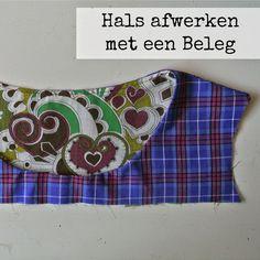 Sew Natural Blog: NaaiTechniek: Hals afwerken met een Beleg. Geen zichtbare naad aan de buitenkant!