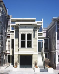 The Cube House project is an old Victorian home re-imagined by John Maniscalco Architecture for a family of four, located in San Francisco, California.