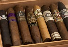 A selection of cigars chosen by the Premium Cigar of the Month Club's panel of experts