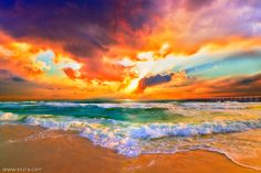 Sunset Wall Art - Colorful landscapes and seascapes - Eszra Tanner