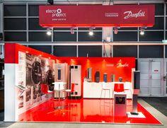 Danfoss / Auqa Vakbeurs Exhibit Design, Stage Design, Engineering, Projects, Retail Architecture, Creativity, Log Projects, Set Design, Scenic Design