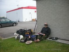 Relaxing along the Bruce Trail - 2009
